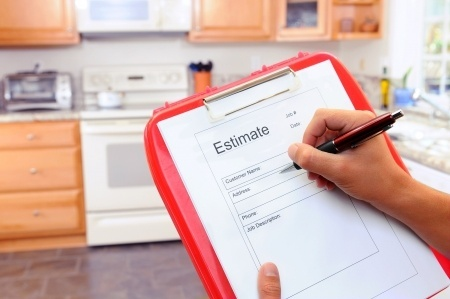 estimate for a kitchen appliance repair
