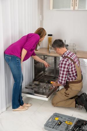 dishwasher in home repair service