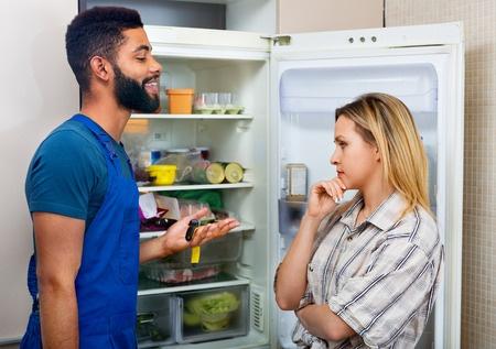 discussing fridge light problem